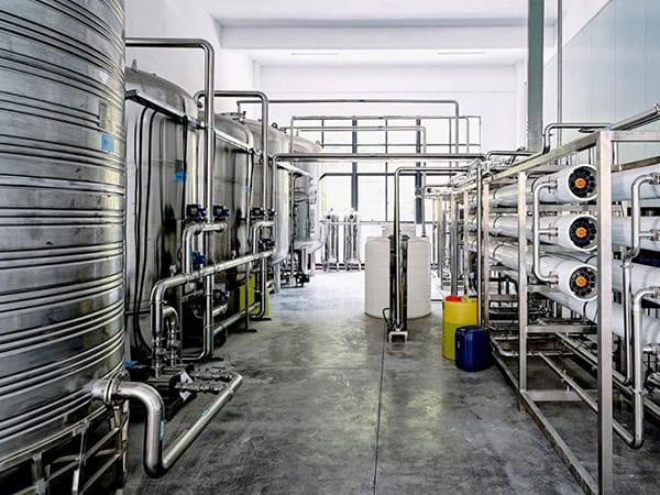 Deionized water production