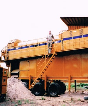 DOVE mining and mineral processing equipment for alluvial (placer) deposits