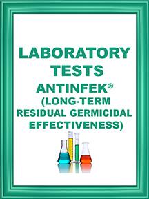 ANTINFEK TEST LONG TERM RESIDUAL EFFECTIVENESS