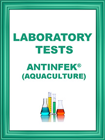 ANTINFEK TESTS AQUACULTURE ICON