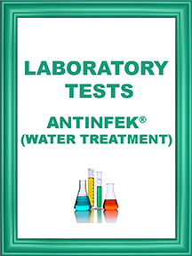 ANTINFEK TESTS WATER TREATMENT ICON