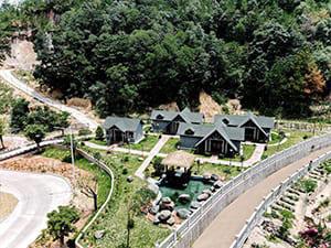 DOVE China Project guest villas