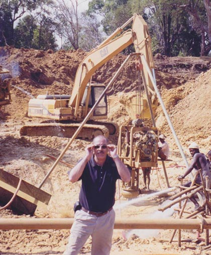 DOVE mining projects MADAGASCAR 2003-2005 ILAKAKA