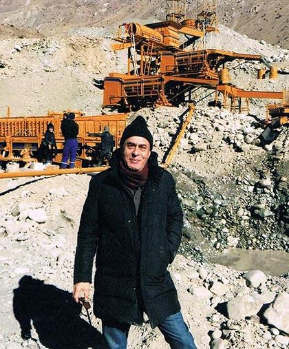 DOVE mining projects TAJIKISTAN