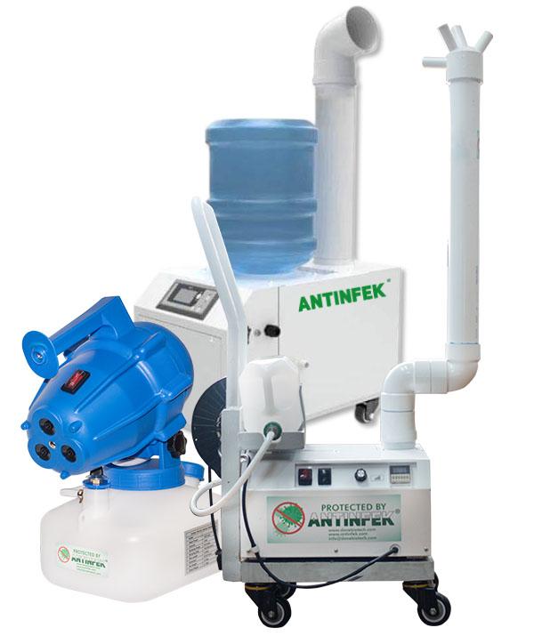 ANTINFEK Sanitizing machines